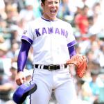 吉田輝星はマウスピースで歯が白い!侍ポーズがイケメン!弟かわいい!